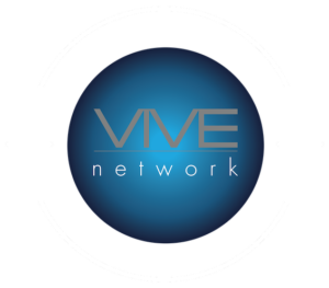VIVE Network Logo Framed Circle