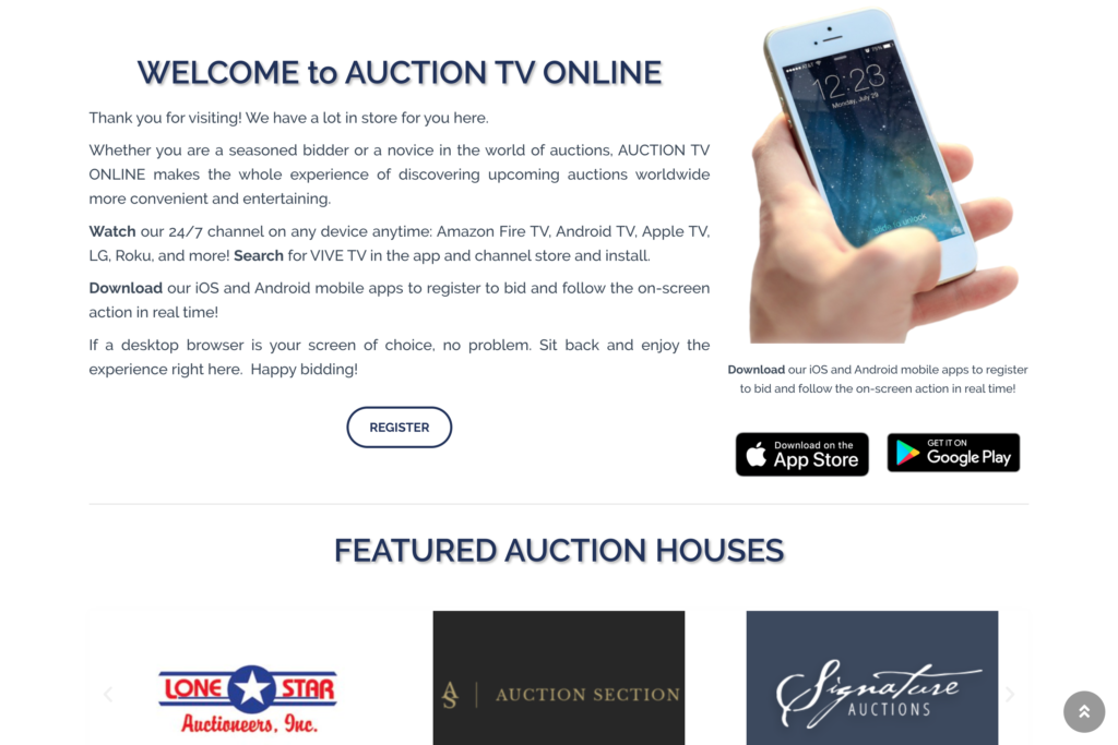 Auction House Page 1